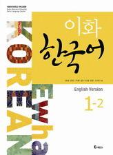 Ewha Korean 1-2 English Ver Korean Language Book Korean Conversation 1CD