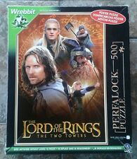 The Lord of the Rings 3D Poster Puzzle Two Towers by Wrebbit Complete RARE