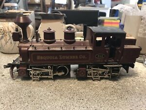 ETS Steam Engine Sequola Lumber Company No 2