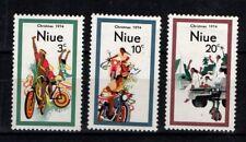 Niue New Zealand 1974 Christmas Mint MH