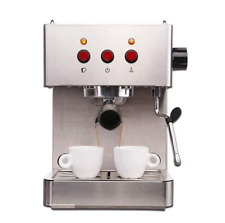 Electric mini home espresso coffee machine for making latte cappuccino coffee b