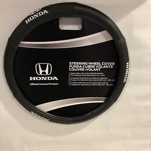 Honda Sport Grip Synthetic Leather Car/SUV/Truck Steering Wheel Cover New