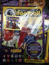 Panini FOOTBALL 2020 Premier League Sticker Brand new Album and 25 stickers