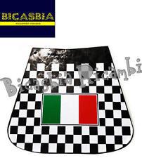 7340 - PARASPRUZZI POSTERIORE IN GOMMA CON BANDIERA ITALIA VESPA 50 125 150