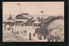 L@@K  Blackpool The North Pier 1909 Postcard ~ GOOD QUALITY CARD