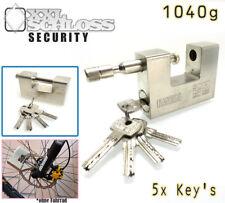 KaSul® | Monoblock 94mm Sicherheits-Vorhängeschloss | 5 Schlüssel | 1040gramm