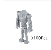 HOT Free shipping 100 Pcs MIXTURE Battle Droid GARY Figures - STAR WARS Lego MOC