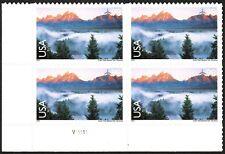 USA Sc. C147 98c Grand Teton 2009 MNH plate block