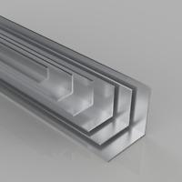Aluminium Angle Protection Strip Worktop Corner Edging Edge Protector 2438mm