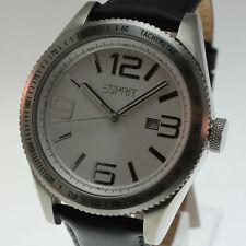 Esprit Armbanduhren mit 12-Stunden-Zifferblatt und mattem Finish für Herren