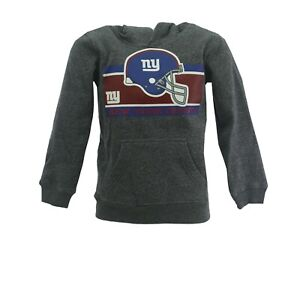 New York Giants Official NFL Apparel Kids Youth Size Hooded Sweatshirt New W Tag