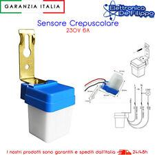 Interruttore Sensore PIR Crepuscolare