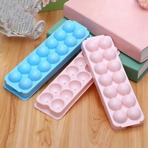 Ice Ball Tray Ices Jelly Maker Mold Trays with Lid for Whisky Cocktail lskn