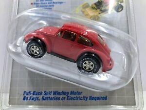 Vintage Darda 1991 RED Pull-Back Self Winding Motor VW Bug Volkswagen Beetle NOS