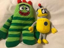YO GABBA GABBA BROBEE STUFF STUFFED PLUSH TOY TOYS LOT