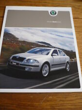 SKODA OCTAVIA BROCHURE JULY 2004