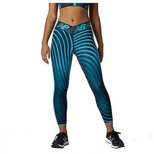 New Balance Relentless Printed High Rise 7/8 Women's Running Leggings, Virtual