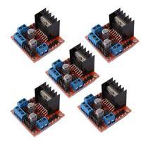 5 PCS L298N Motor Drive Controller Board DC Dual H-Bridge Robot Stepper Mot X3L2