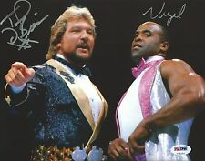 The Million Dollar Man Ted DiBiase Virgil Signed WWE 8x10 Photo PSA/DNA COA WWF