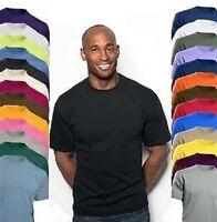 Hanes 5131 Plain Cotton Summer Weight Short Sleeve Top T-Shirt Tee Shirt Tshirt