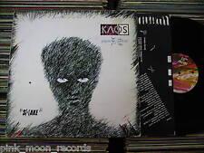 KAOS SHAKE JO SQUILLO INNER SLEEVE ITALY 1982 LP