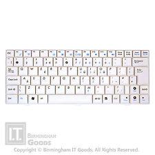 Asus Eee EPC 900HA T91SA Teclado V100462AK1 Reino Unido Layout Blanco
