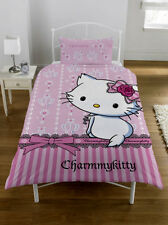 Sanrio Hello Kitty Charmmy Kitty Bed Cover 135x200cm Bed Set New Pink