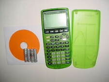 Texas Instruments TI-83 Plus Graphing Calculator, GREEN EDITION.