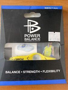 Power Balance Bracelet Wrist Size Small Yellow (17.5.cm) - NEW - MSRP:  $29.99
