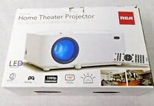 "RCA RPJ116 RPJ 116 2000 LUMENS LED Projector 1080P 1080 P HDMI up to 150"" Screen"