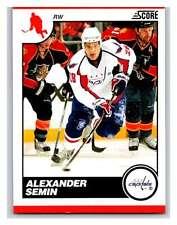 (HCW) 2010-11 Score Glossy #472 Alexander Semin Capitals Mint