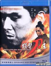 Return Of The One Armed Swordsman Blu-ray (1969) Chang Cheh Shaw Brothers