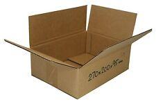 25 270x200x95mm 3Kg Satchel Cardboard Boxes mailing Shipping Carton