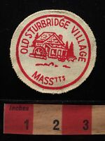 Vintage OLD STURBRIDGE VILLAGE Massachusetts Patch 65K