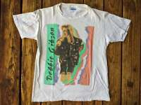 Vintage 1989 Double Sided Debbie Gibson Electric Youth Tour T-Shirt, Size S-3XL