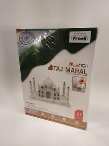 Cubic Fun 3D Puzzles EPS Foam board Educational Creative Taj Mahal NEW     (F1)