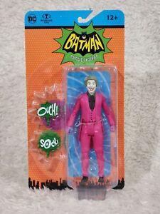 "Retro Batman Classic 66 TV Series JOKER 6"" Action Figure McFarlane Toys"