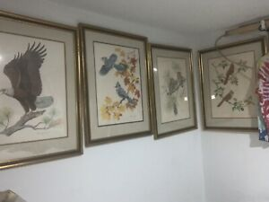 The American Bald Eagle Blue Jay Screech Owl The Cardinal Albert Earl Gilbert