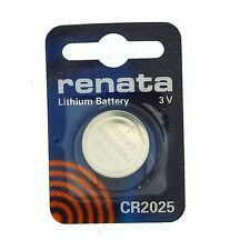Renata Mercury Free 3V Lithium Coin Button Cell Battery CR 2025