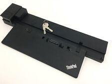Lenovo ThinkPad Workstation 04W3955 Docking Station 40A5 P50 P51 P70 P71 w/ Keys