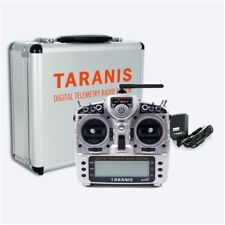 FRSKY 2.4G ACCST TARANIS X9D PLUS TRANSMITTER WITH ALUMINUM CASE IN CARTON FPV