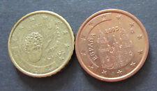 5 + 10 Cent Euro Münze Spanien Prägejahr 2005 aus Umlauf Sammlerstück!