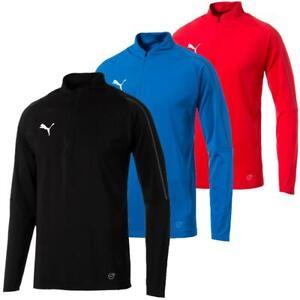Puma FINAL Training 1/4 Zip Herren Trainingsshirt Top Oberteil Fußball Fitness