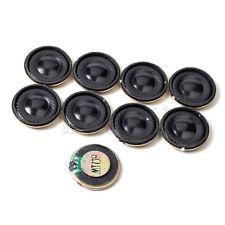 8 Pieces 28mm 8Ohm 8Ω 1W Internal Magnetic Round Audio Speaker Loudspeaker MA