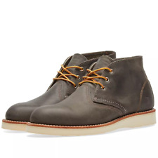 Red Wing 3150 Heritage Work Chukka Charcoal Rough & Tough