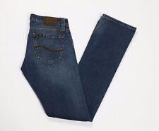 jeans Lee maddox W29 L35 tg 42 43 slim donna denim usati blu boyfriend T2762
