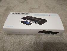 J-Tech Digital ® 5 Port HDMI/MHL Switch & Audio Extractor SPDIF/3.5mm Jack 4K