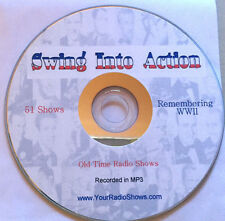 Swing Into Action 1 CD 51 Shows-OTR, Big Band, Glenn Miller, Music, WWII