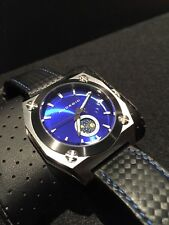 Android Ad485 Moon Face Men's Blue Dial Watch