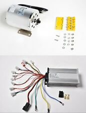 1500W Watt 48V Volt BLDC electric motor w Base BOMA with Controller f Go-kart